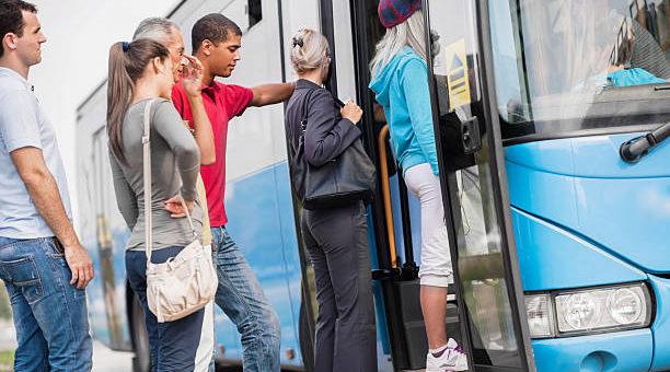 Счётчик пассажиропотока в автобусе