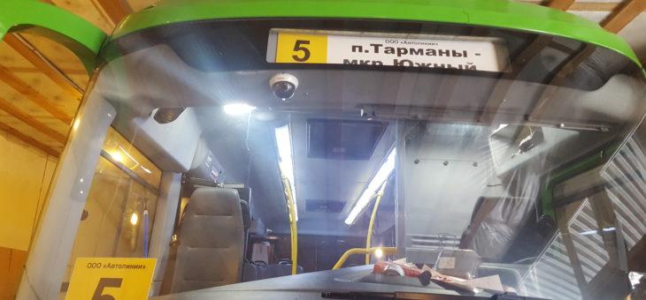 В Тюменских автобусах пассажиров будут снимать на видео.